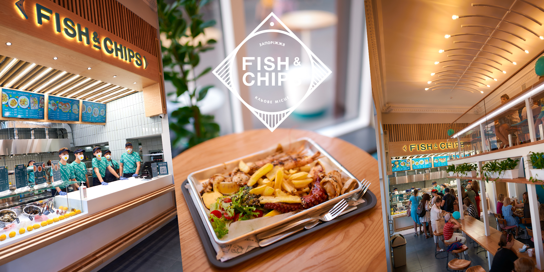 fast casual restaurants FISH & CHIPS